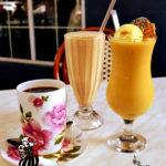 オーストラリア、キャンベラのカフェで一休み