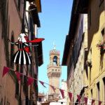 綱渡りで、街巡り♫(イタリア、フィレンツェ)